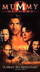 VHS The Mummy Returns, Brendan Fraser