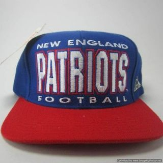 VTG New England Patriots Tom Brady Starter Wes Welker Boston snapback