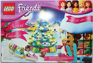 FRIENDS GIRL 3316 LEGO 2012 ADVENT CALENDAR NEW Sealed Ships ASAP