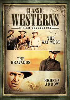 Classic Westerns 3 Film Collection, New DVD, James Stewart, Jeff