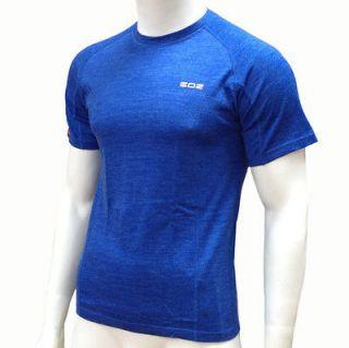 EDZ Merino Wool T Shirt / base layer mens blue 200g