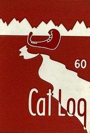 REPRINT: 1960 West High School Cat Log Yearbook Bremerton WA