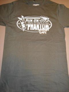 STRAY CATS Slim Jim Phantom T Shirt **NEW music band concert tour