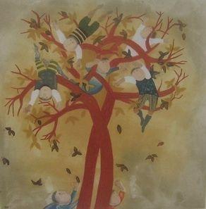 Rodo Boulanger (Four Seasons) Autumn Etching Artwork