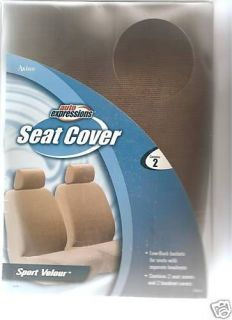 TOYOTA COROLLA BUCKET SEAT COVERS CAR TRUCK TAN