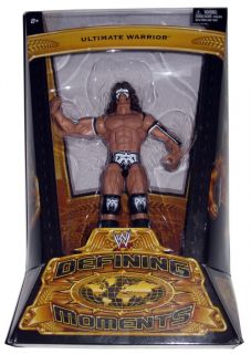WWE CLASSIC DEFINING MOMENTS ULTIMATE WARRIOR 1 OF 15 W/PROOF