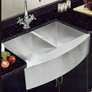 22 16 Gauge 304# Stainless Steel Double Bowl Undermount Kitchen Sinks