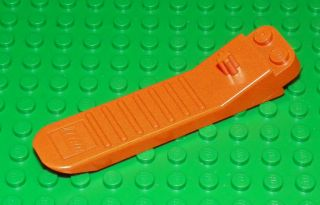 LEGO   BRICK SEPARATOR w/ TECHNIC AXLE   ORANGE