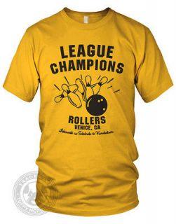 the Big Lebowski Bowling league American Apparel 2001 T Shirt nwt