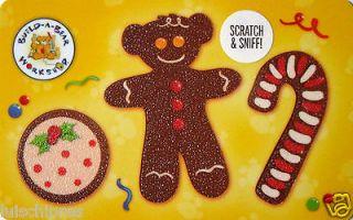 BUILD A BEAR Gift Card Gingerbread COLLECTIBLE NO VALUE 2012