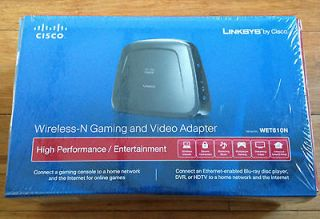 Cisco Linksys WET610N Dual Band Wireless N Gaming Video Adapter