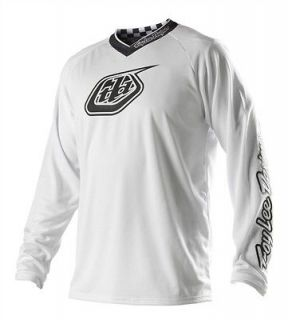 NEW TROY LEE DESIGNS TLD GP WHITE OUT MX DIRT BIKE OFFROAD JERSEY WHT