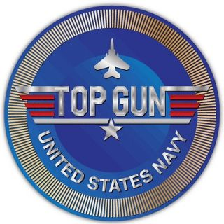 Top Gun United States Navy USA Car Bumper Boat Window Sticker Decal 4