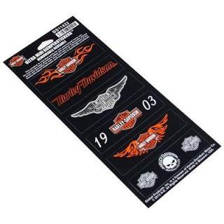 Harley Davidson Rider Ultra Mini Bumper Stickers