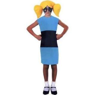 PowerPuff Girls Bubbles / Buttercup Halloween Costume Power Puff S 4 6