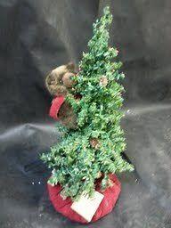 DITZ 18 Christmas Tree with Brown Bear