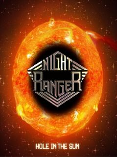 NIGHT RANGER Hole in the Sun rock roll guitar band music glossy photo