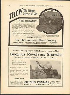 1945 Bucyrus Erie Co.South Milwa ukee ,Wis.Bucyrus Erie Shovel ad