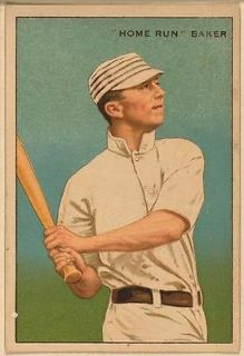 Home Run Baker, Philadelphia Athletics, baseball,1912