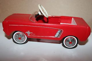 1964 1/2 FORD MUSTANG HALLMARK KIDDIE CAR CLASSICS PEDAL CAR