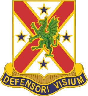 STICKER US ARMY UNIT 278TH Chemical Battalion