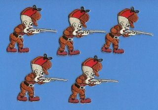 Lot Elmer Fudd Looney Tunes Iron On Patches Crests B
