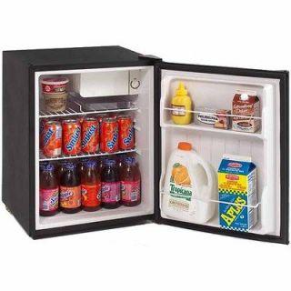 CuFt. Compact Stainless Steel Fridge & Freezer, Mini Refrigerator
