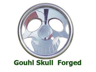 Ghoul Skull Custom Machined Billet Steering wheel
