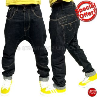 Brooklyn Mint Carrot Arc Drop Crotch Tapered Leg Fit Jeans Hip Is Hop