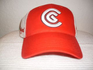 Trucker Hat Baseball Cap CLEVELAND GOLF Lid Vintage Cool Old School