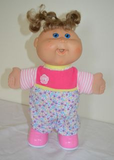13 Playalong CPK Cabbage Patch Doll Walks Talks Giggles Pink Outfit