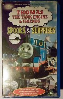 Thomas the Tank Engine and Friends Spooks and Surprises VHS Video (PAL