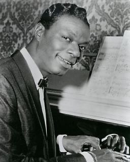 Nat King Cole Singer American Jazz,Musician, Singer, Big Band Death