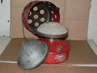 coleman heater btu