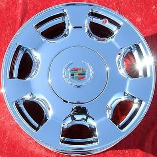 NEW 16 CADILLAC DEVILLE OEM CHROME WHEELS RIMS SEVILLE DTS CTS 4549