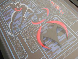 THE BATARANG Warner Bros. Limited Edition Lithograph & Batarang