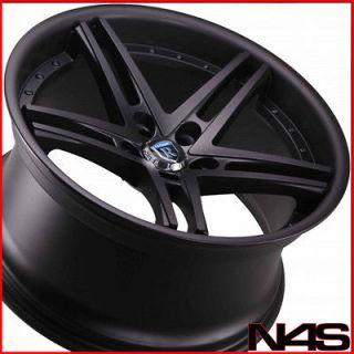 CTS ROHANA RC5 MATTE BLACK CONCAVE WHEELS RIMS (Fits Cadillac CTS V