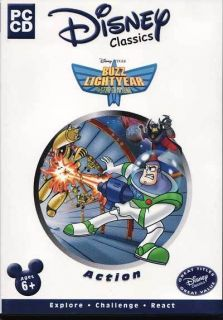 BUZZ LIGHTYEAR of Star Command   Toy Story   PC New