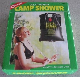 NEW 5 Gallon Solar Camp Shower Hot Water Heater Camping