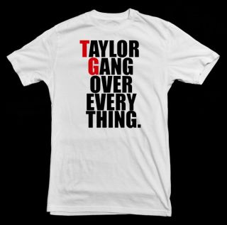 Shirt   new 2012 taylor hip hop gang tgod wiz khalifa snoop