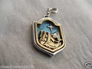 Three Wise Men Christmas Charm Limited Edition 1978 Star Camels
