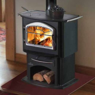 Napoleon 1150P Gourmet Wood Burning Cast Iron Stove w/ options (cook