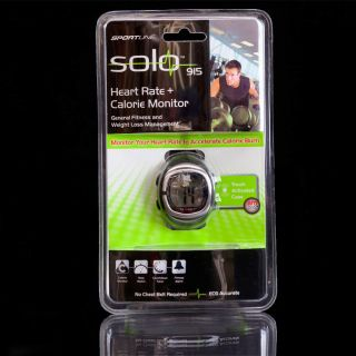 Solo 915 Mens & Womens Heart Rate Monitor Watch & Calorie Counter