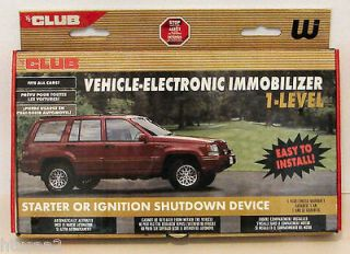 Club Vehicle Electronic IMMOBILIZER Easy to Install Car/Auto Activated