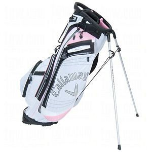 BRAND NEW CALLAWAY HYPER LITE 4.5 STAND CARRY GOLF BAG BLACK PINK