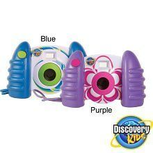 Discovery Kids Digital Camera  Purple, Blue & Light Blue