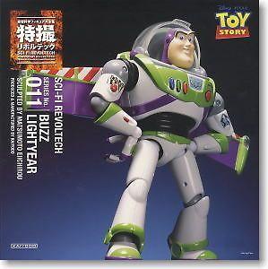KAIYODO SCI FI Revoltech No.011 Buzz Lightyear action figure
