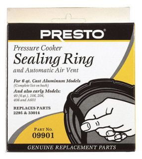 Presto Pressure Cooker Sealing Ring 9901 NEW
