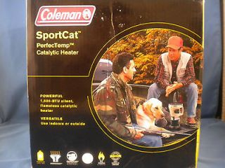 Coleman SportCat PerfecTemp Catalytic Heater 1,500 BTUs   NEW