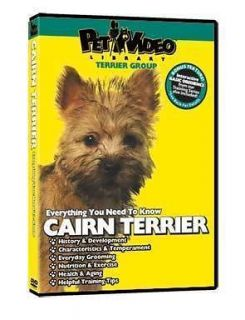 CAIRN TERRIER ~ Puppy ~ Dog Care & Training DVD + BONUS